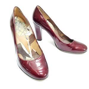 Stuart Weitzman  Ruby Red Slipper heels Sz 9